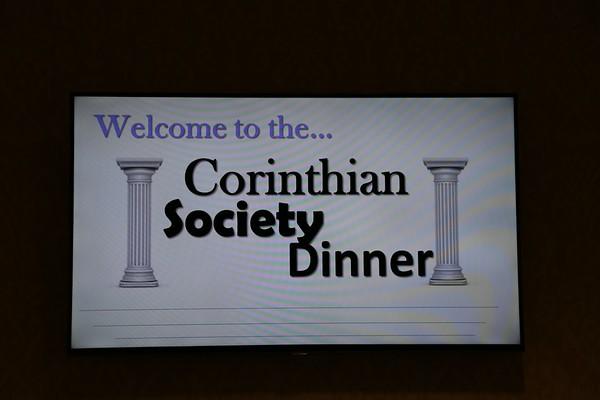 Corinthian Society Dinner 10-14-2017