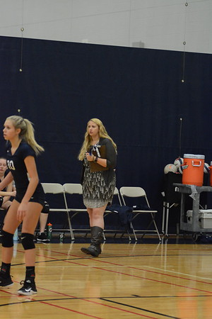 OE Fresh. Girls Volleyball Vs Plainfield Central 2018