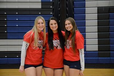 OE Girls Varsity Volleyball Vs Plainfield Central 2018