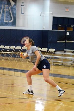 OE Girls Badminton Vs Romeoville 2019