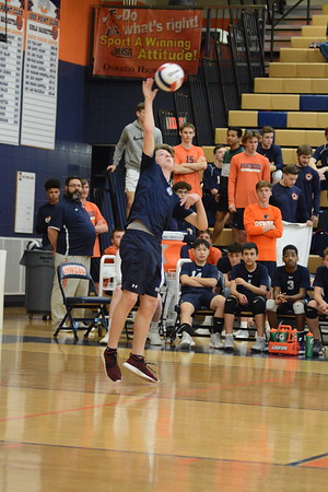 OE Fresh. Boys Volleyball Vs Oswego 2019