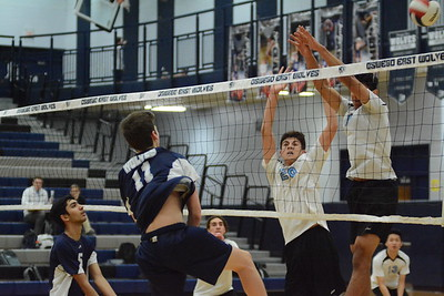 OE Soph. Boys Volleyball Vs Willowbrook 2019