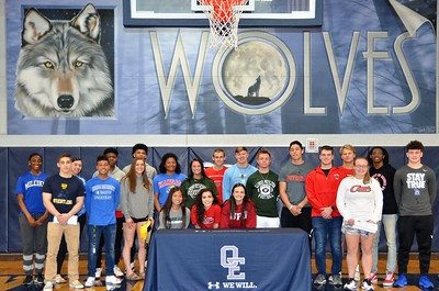 OE College Signing Day 2019