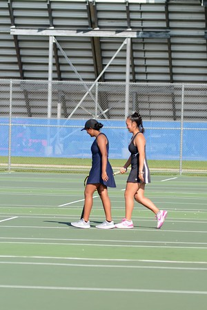 OE Girls Varsity and Jv Tennis Vs Romeoville  2018
