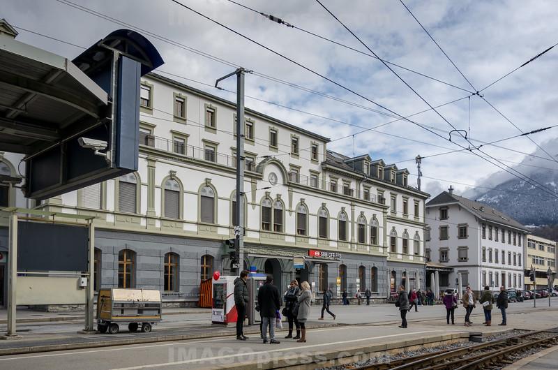 Bahnhof Brig © Patrick Lüthy/IMAGOpress