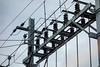 Elektrische Leitungen bei der Matterhorn - Gotthard - Bahn © Patrick Lüthy/IMAGOpress