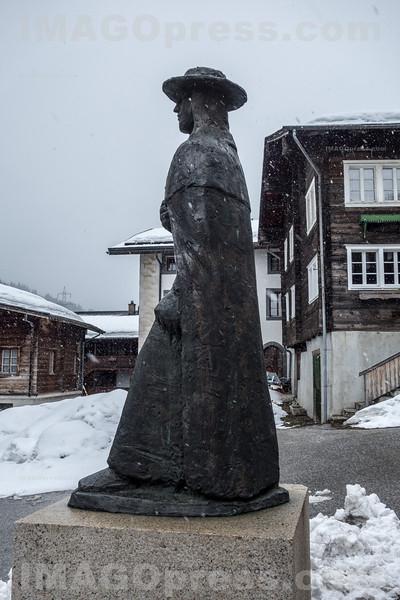 Schinerdenkmal in Ernen © Patrick Lüthy/IMAGOpress