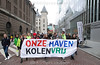 Netherlands - Climate March for a Coal-Free in Rotterdam