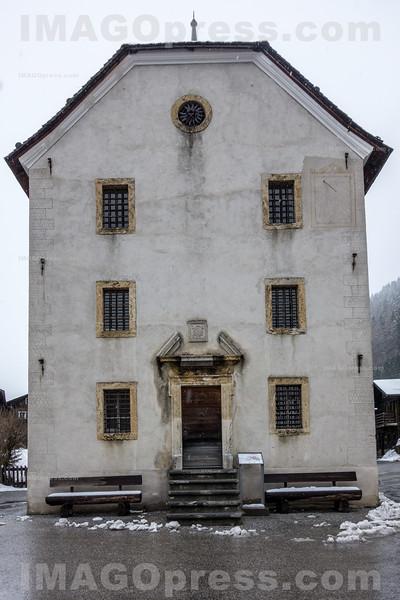 Zehndenratshaus in Ernen © Patrick Lüthy/IMAGOpress