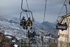 Spanien : Skigebiet in der  Sierra Nevada - Mit 3482 m das höchste Gebirge der Iberischen Halbinsel im Süden Spaniens in den Provinzen Granada und Almería in der Autonomen Region Andalusien und ist ein 100 km langer Teil der Betischen Kordillere © Patrick Lüthy/IMAGOpress.com