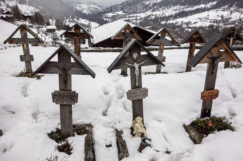 Friedhof in Ernen © Patrick Lüthy/IMAGOpress