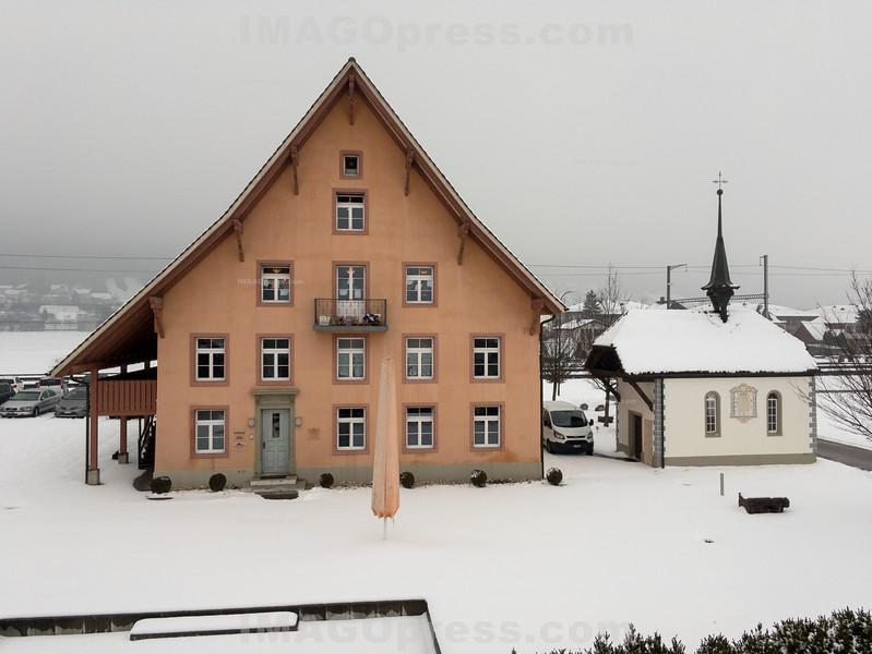 Schälismühle  im Winter in 4625 Oberbuchsiten - SO © Patrick Lüthy/IMAGOpress