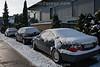 Autos im Schnee © Patrick Lüthy/IMAGOpress.com