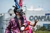El Salvador : Personajes de fantasía , desfile del correo , fiestas de San Salvador / Fantasy characters , mail parade , San Salvador parties / El Salvador : Masken © Antonio Herrera Palacios/LATINPHOTO.org