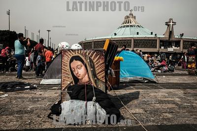 Celebraciones en la Basilica de Guadalupe