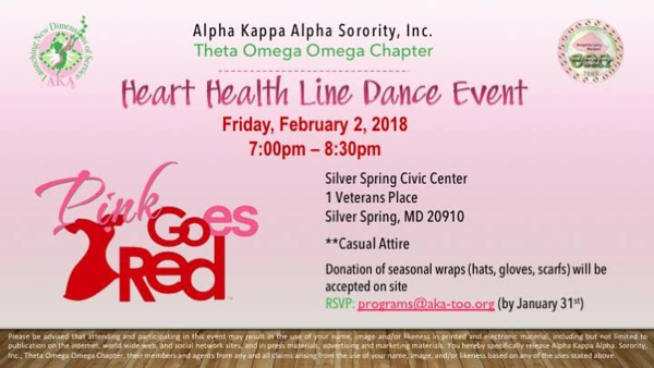 2018-02-02 Heart Health Line Dance Event