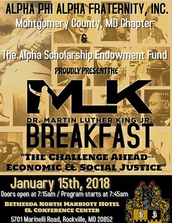 2018-01-15 Martin Luther King, Jr. Memorial Breakfast