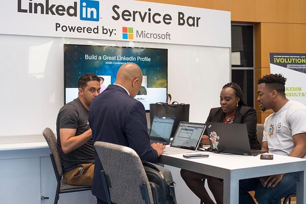Microsoft Cyber Café- Linked-In Bar - 010