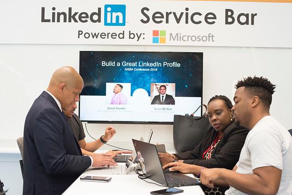 Microsoft Cyber Café- Linked-In Bar - 015