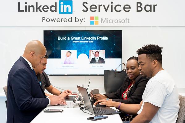 Microsoft Cyber Café- Linked-In Bar - 014