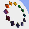 Rainbow Rhombus