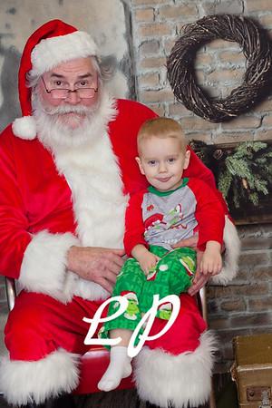 Cardinal Santa Christmas and 9 mo (10 of 23)