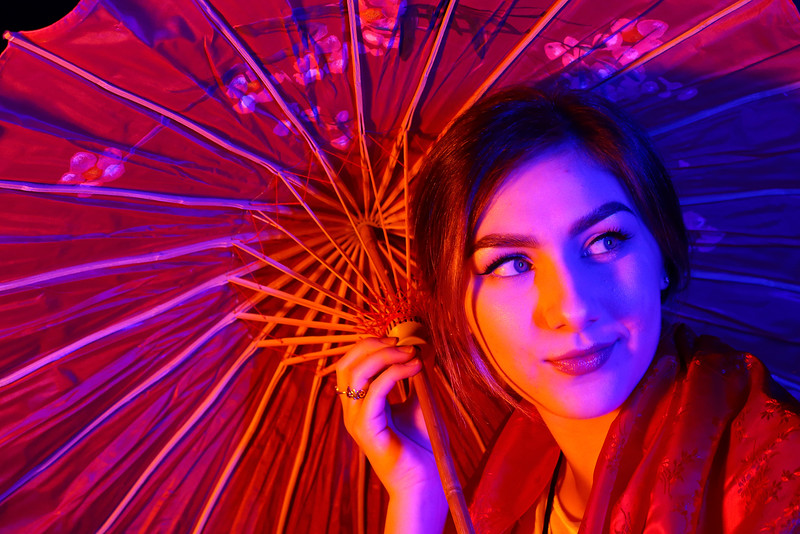 Honorable Mention<br /> Environmental Self Portrait<br /> 2018 ATPI Winter Conference<br /> Rebekah Bettinger <br /> Deer Park HS<br /> Deer Park, TX<br /> Eye Candy