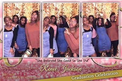 2020.01.01 Renee Jackson Surprise Graduation Celebration