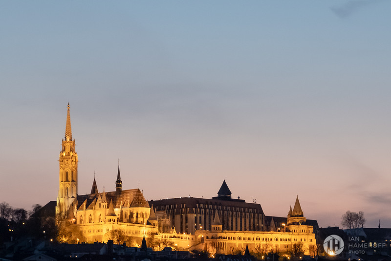 Matthias Church at Dusk