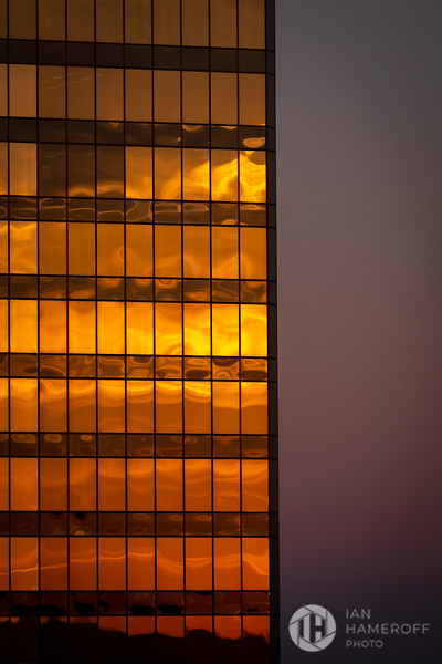 Golden Hour Building