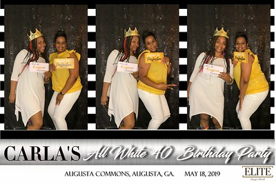 2019.05.19 Carla's All White 40th Birthday Party