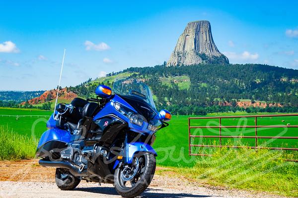 2019-07-18 Spearfish SD Motorcycle Hub&Spoke Tour