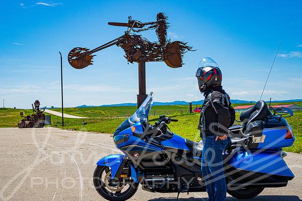 2019-07-19 Spearfish SD Hub&Spoke Motorcycle Tour