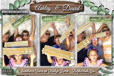 "2019.07.20 ""Ashley and David"" Wedding Reception, Southern Barn at Neely's Farm"