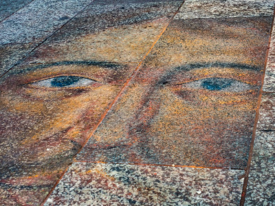 A Face in Cologne (street artist unknown)