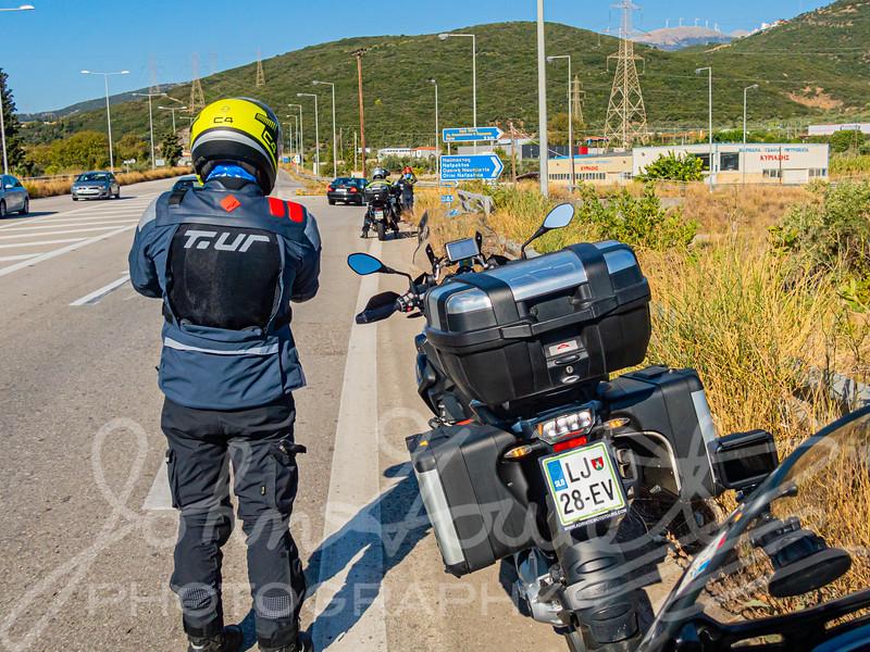 John & Holly's Greece Motorcycle Tour 2019