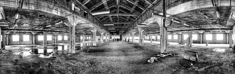 Before the After - The Indianapolis Ford Assembly Plant