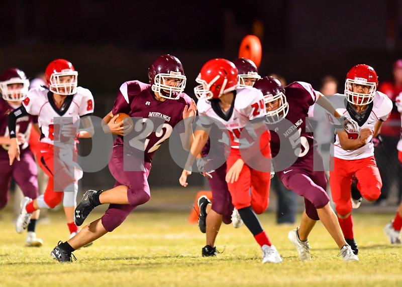 Glen Rose @ Perryville. Jr high school football