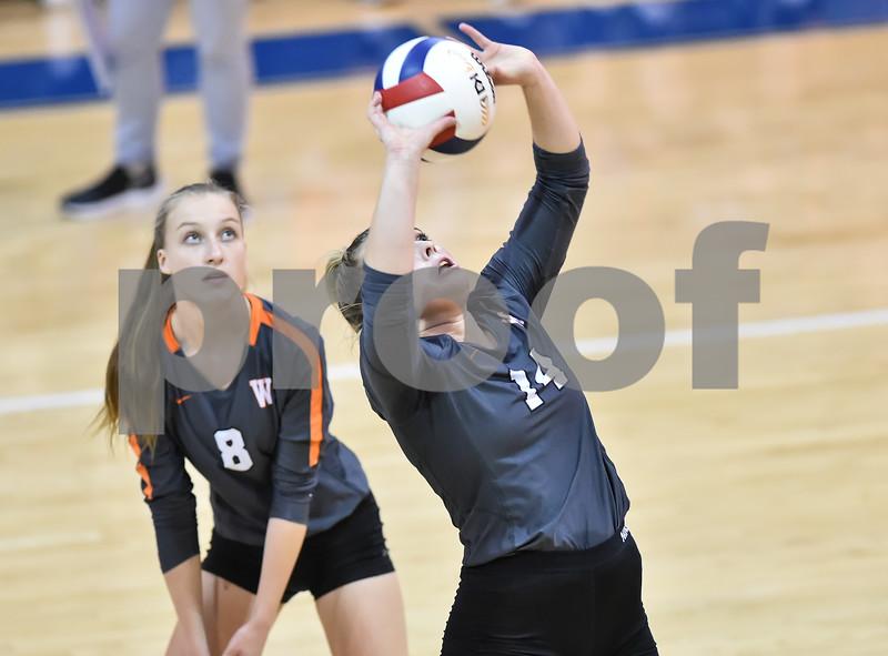 3A state volleyball playoffs. The playoffs were held at the Paris high school gym in Paris  Arkansas.