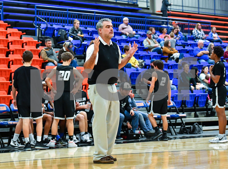 Bigelow @ Two Rivers. Basketball game was played at the Two Rivers high school gym in Ola Arkansas