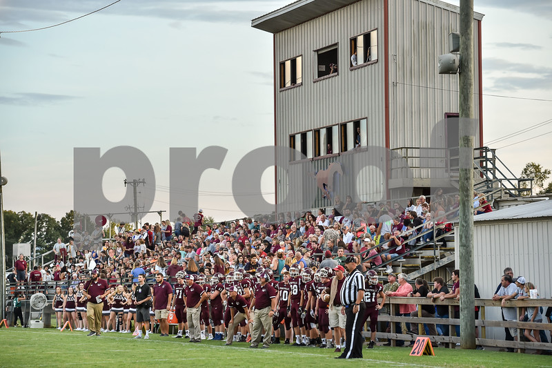 Perryville football team vs Paris at the Perryville high school football field in Perryville  Arkansas.