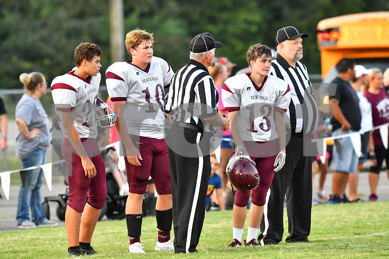 Perryville @ Bigelow. Jr football game was played at the Bigelow high school football field