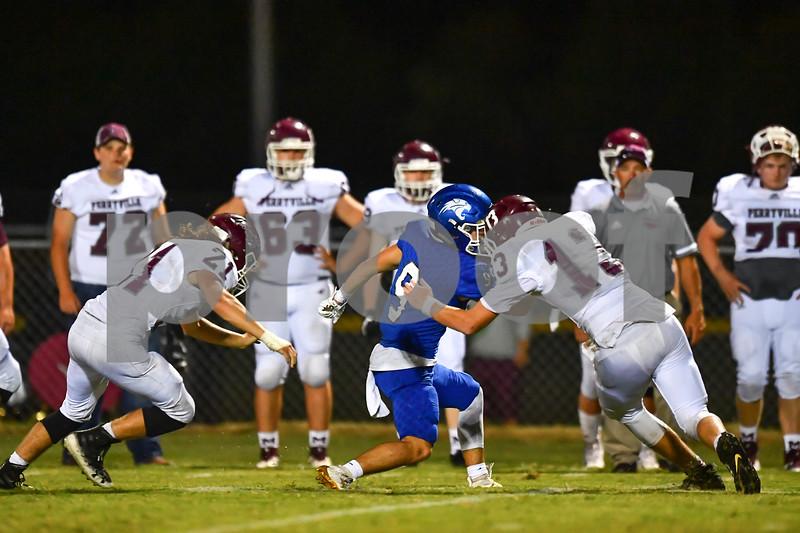 Perryville @ Hector.. High school varsity football game
