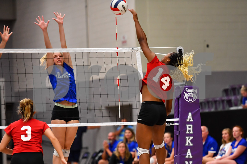 AAA high school all stars. Softball, baseball, volleyball. Event held in Conway at the University of Central Arkansas.