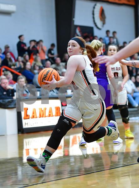 .3A District Basketball playoffs.