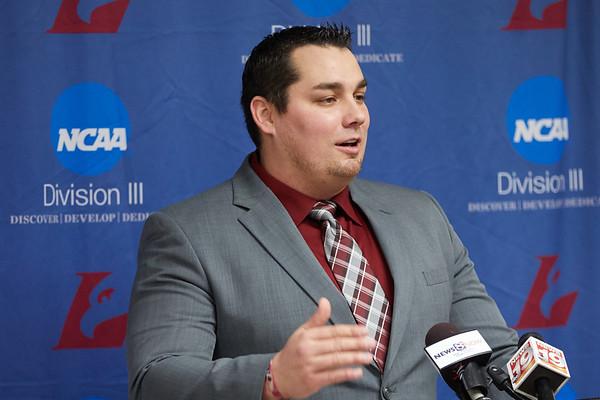 2020 UWL Athletics Football Coach Matt Janus  0037