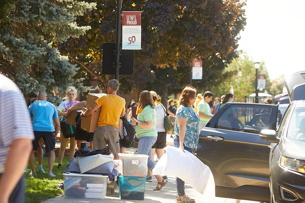2019 UWL Fall New Student Move in Weekend NSO 0251