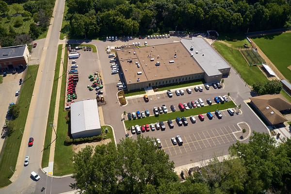 2019 UWL North Campus Drone Aerials Baseball Softball fields0014