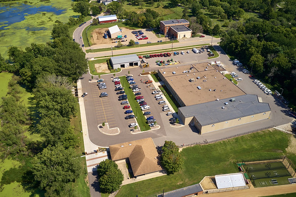 2019 UWL North Campus Drone Aerials Baseball Softball fields0013