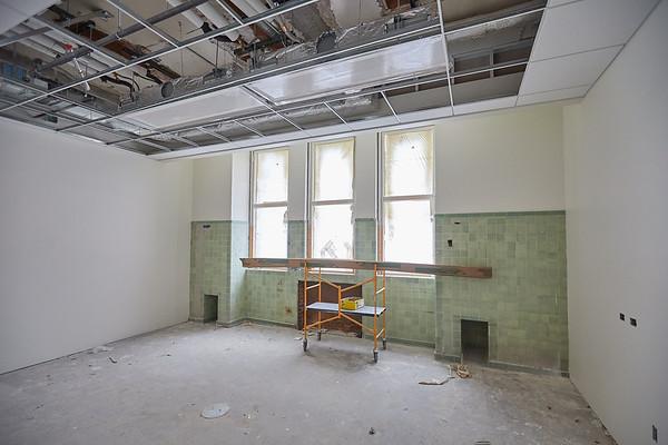2019 UWL Winter Wittich Hall Construction  0022